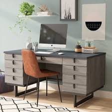 Contemporary Office Furniture Desk Modern Desks Allmodern