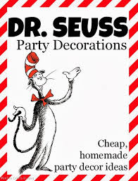 dr seuss balloons dr seuss party decorations mad in crafts