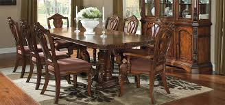 solid oak dining table and 6 chairs solid wood dining room table and chairs breathtaking ashley
