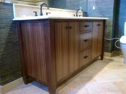 Custom Bathroom Vanity Tops Bathroom Designs Cool Modern Walnut Bath Vanity And Custom