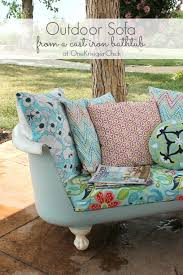 Upcycling Sofa Upcycled Outdoor Furniture You Can Make With Just About Anything