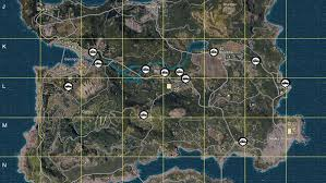 pubg interactive map there s an interactive battlegrounds map that lets you plan every