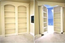 Bookcase Closet Doors Creative Bookshelf Door Kit For Your Bookcase Closet Doors