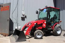 mahindra emax 25 hst tractor loader cab for sale in belchertown