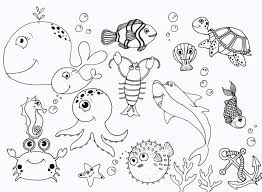 under the sea coloring pages coloring page