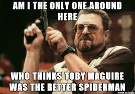 Peter Parker Memes - i think garfield is the better spiderman but not a good peter