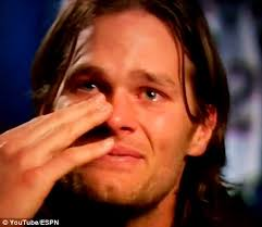 Crying Baby Meme - cry baby brady super bowl chion quarterback breaks down on tv as