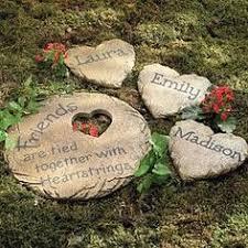 Garden Stone Craft - in loving memory personalized garden stone memorial garden