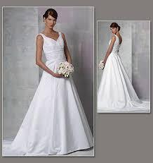 vogue wedding dress patterns vogue patterns 1163 misses dress