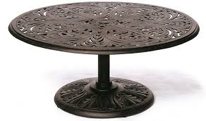 42 Patio Table Chateau By Hanamint Luxury Cast Aluminum Patio Furniture 42