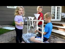 diy sand and water table pvc diy water table using pvc pipe youtube