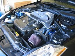 Nissan 350z Horsepower 2006 - engine bay dress up kit nissan 350z forum nissan 370z tech forums