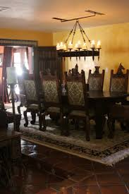 Gothic Dining Room by Avila Chandelier Arts Of Iron