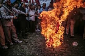 Flag On Fire Imam U0027s Killing In China May Be Aimed At Making Muslim Uighurs