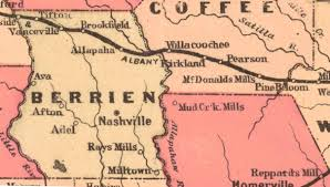 County Map Ga Haints Of Berrien County Ray City History Blog
