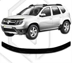 renault duster black dacia duster 2016 up scoutt hood deflector bonnet guard protector