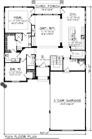 Atrium Ranch Floor Plans 195 Best House Plans Images On Pinterest Small House Plans