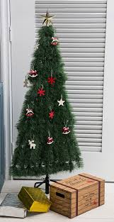 christmas tree shop ls artificial flat christmas tree