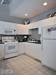 Modern Kitchen With White Appliances Should I Paint My Kitchen Cabinets White Planning This Cool Grey