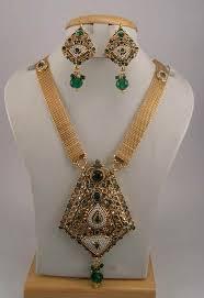 gold antique necklace set images Antique jewelry necklace sets JPG