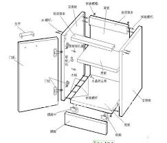 kitchen cabinet assembly exploded view for building cabinet buscar con google