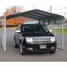 Steel Car Port Awnings Canopies U0026 Shelters Carport Gray 12 U0027w X 20 U0027l X 8 U0027h