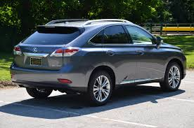 lexus hybrid test drive take a look at this stunning new 2013 lexus rx 350 in new nebula