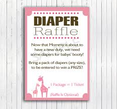 printable diy safari diaper raffle inserts mommy by elvascrafts