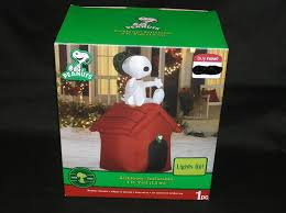 peanuts airblown inflatables 51 best snoopy peanuts ebay images on christmas