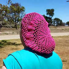 summer snood pattern by we r soto design hair snood