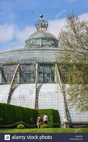 dome of the jardin d u0027hiver winter garden in art nouveau style