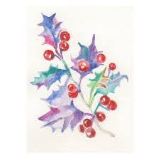 christmas cards in watercolor 229 best christmas card ideas images on watercolor