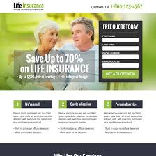 converting life insurance landing page design to boost your