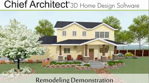 chief architect x9 remodeling demonstration youtube