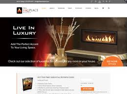 the fireplace place website redesign kickfire marketing agency