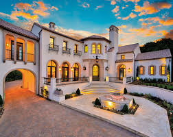 spanish mediterranean homes spanish revival estate featured on the front cover of luxury home