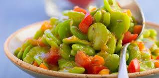 feve cuisine fèves fraîches au cumin facile recette sur cuisine actuelle