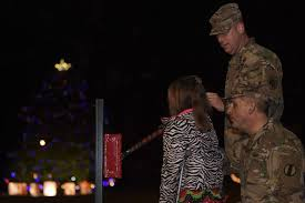 clayton tree lighting 2017 holiday tree lights up the night joint base langley eustis