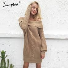 popular oversized jumper dress buy cheap oversized jumper dress
