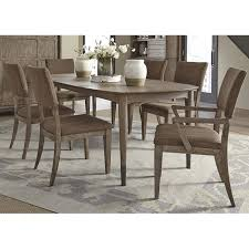 Liberty Furniture Dining Table by Miramar 7 Piece Dining Set Table 4 Side Chairs U0026 2 Arm Chairs