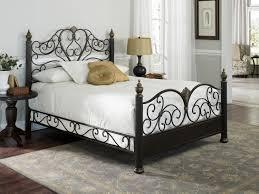 Metallic Bed Frame Bedroom Beds And Bed Frames Steel Bed Frame King King Size Bed