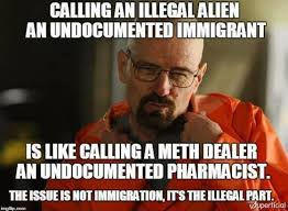 Politically Correct Meme - the politically correct phrase for a drug dealer is undocumented