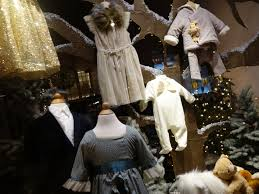 christmas window display children u0027s clothing vancouver a tour
