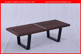 modern outdoor garden bench wood base platform bench buy bench