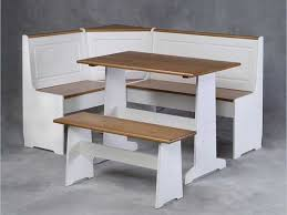 White Kitchen Set Furniture by Bench Table Set Incredible Kitchen Table Sets With Bench And