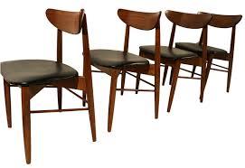 Lane Furniture Dining Room Lane Mid Century Modern Walnut Dining Chairs