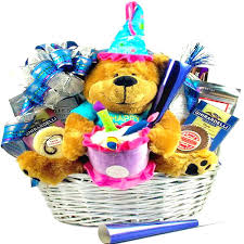 birthday delivery ideas singing birthday gift basket