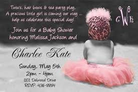 baby girl baby shower invitations appealing girl baby shower invitation ideas amicusenergy