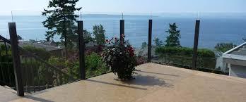 aluminum deck railing glass railing powdercoated aluminum picket