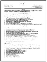 sample human resource manager resume download hr manager resume